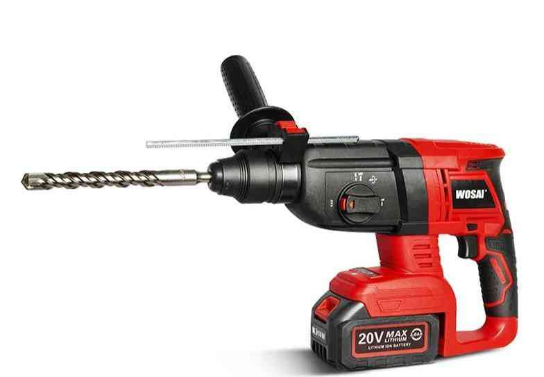Electric Impact Drill, Rotary Brushless Motor, Cordless Hammer