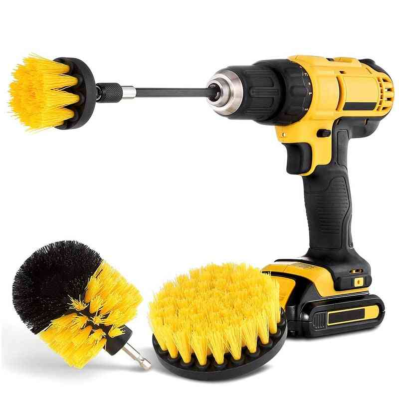 Drill Spin Scrubber, Electric Cleaning Brush For Car, Bathroom, Wooden Floor
