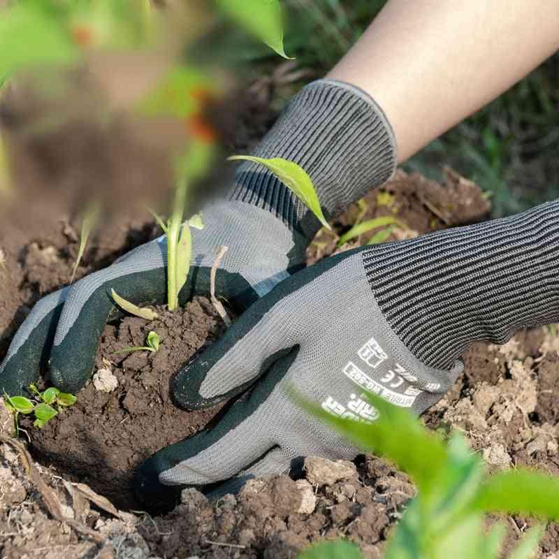 Multifunction Nitrile Rubber Gloves For Or Digging, Planting, Garden