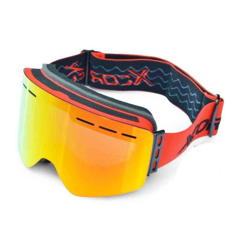 Uv Protection Glasses, Outdoor Winter Sports Skiing Skate Goggles Women