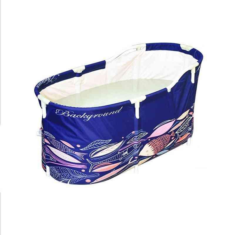 Folding Bathtub, Bath Barrel Tub For Household