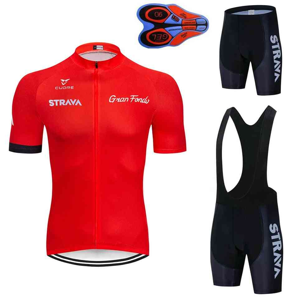 Team Short Sleeve Maillot Ciclismo Men's Cycling Jersey