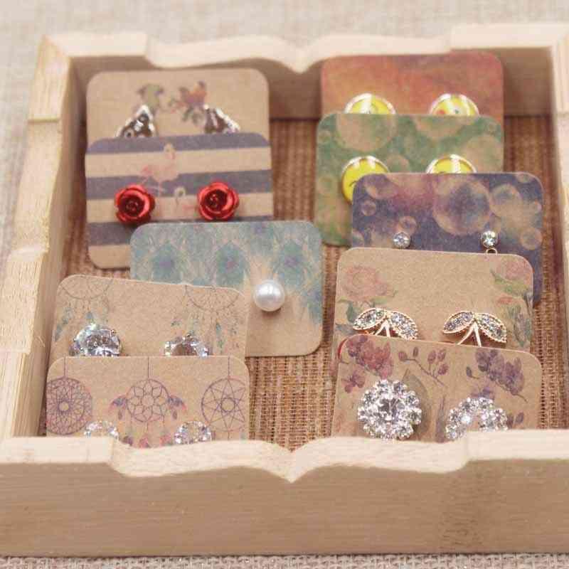 Earring Card Display Jewelry