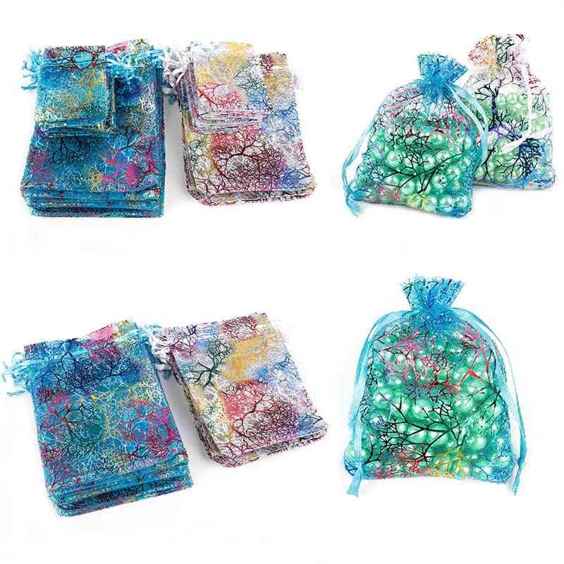 Drawstring Organza Bags