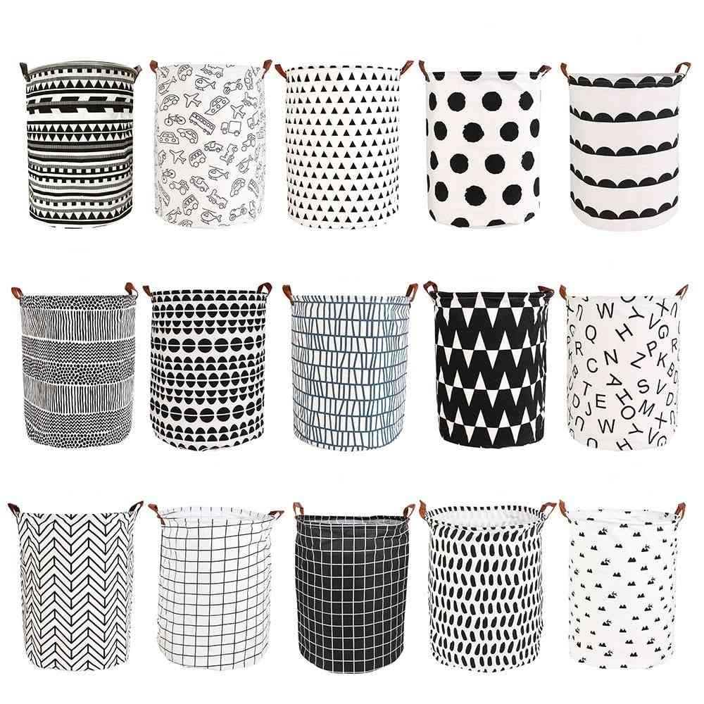 Folding Laundry Basket, Storage Dirty Clothes Large Capacity Sundries Pouch