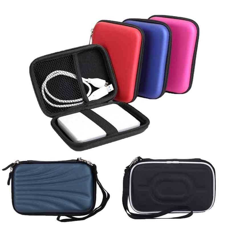 Hdd Bag Hard Drive Disk Case Zipper Pouch Earphone External Protector Cover