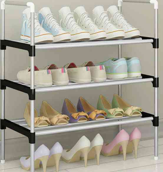 Shoe, Sneakers Stand & Boots Rack, Home Dorm, Stand Holder, Metal Shelf