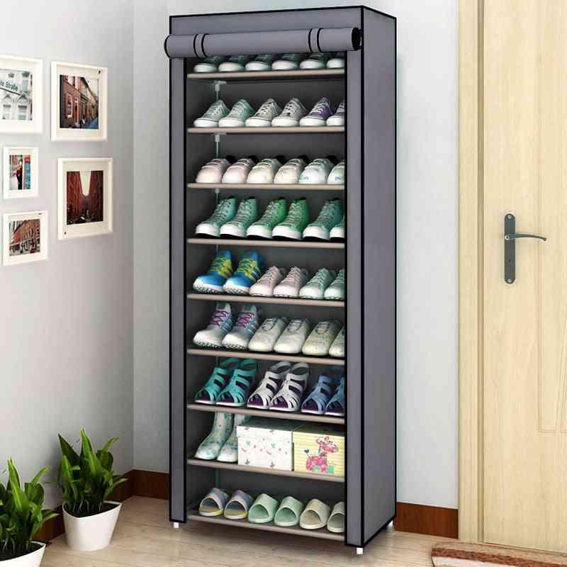 Multilayer- Shoe Cabinet, Dustproof Storage
