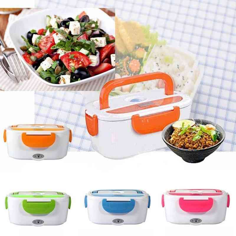 Portable Heated Electric, Lunch Box, Food Warmer, Bento Plug, Rice Boxes