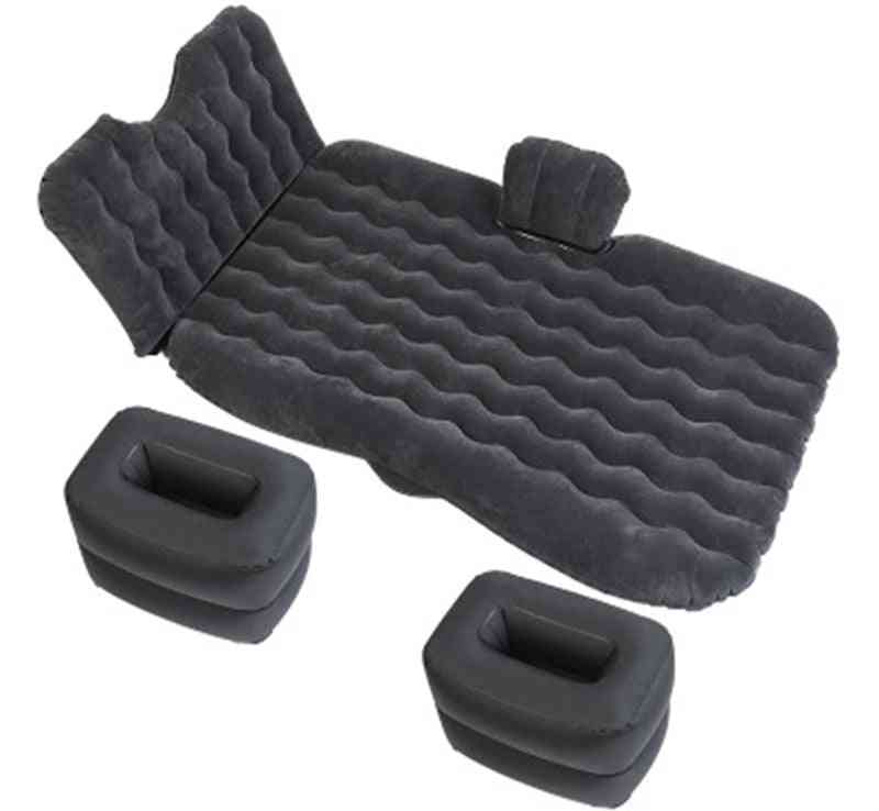 Thicken Car Travel Bed Automatic Air Mattress Suv Special Self-driving Sleeping Pads
