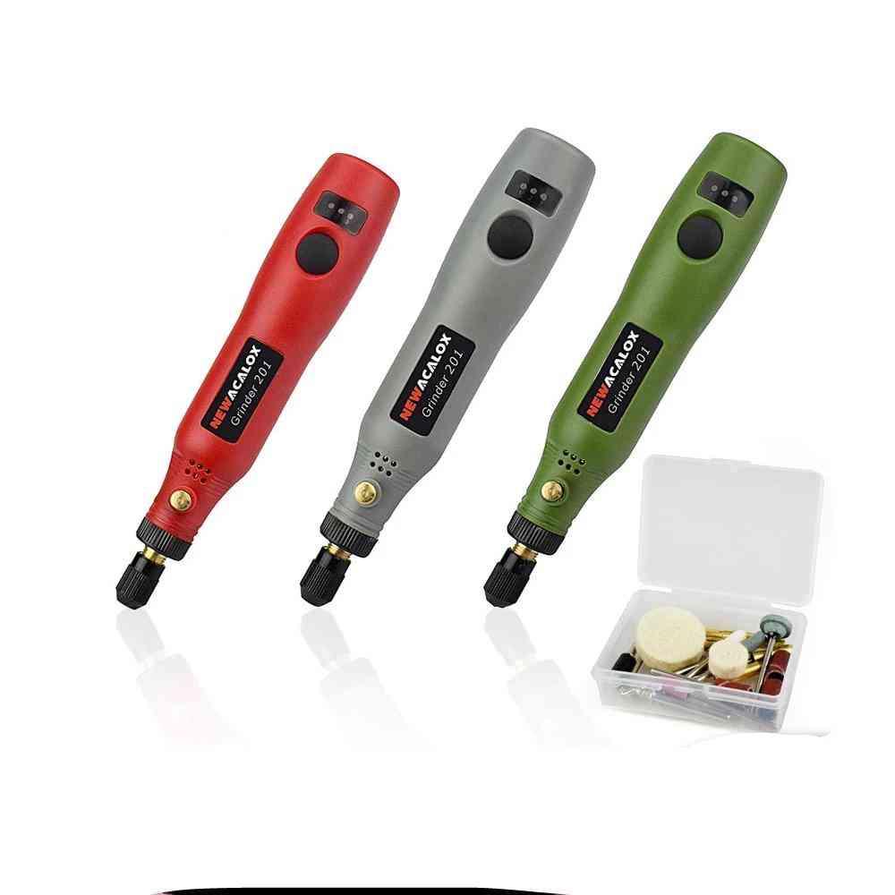 Grinding Machine Usb   Mini Wireless Variable Speed Rotary Tools Kit