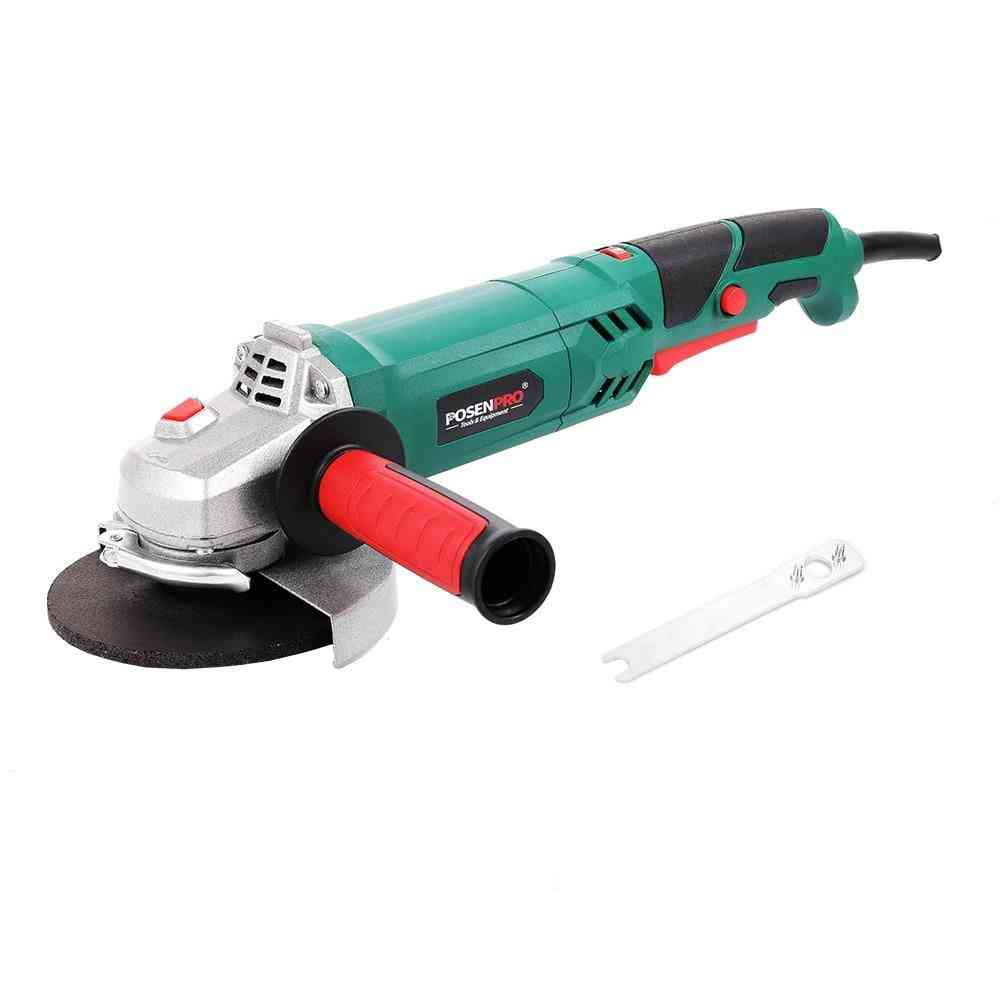 Electric Angle Guard Cutting Grinding Metal Stone Grinder