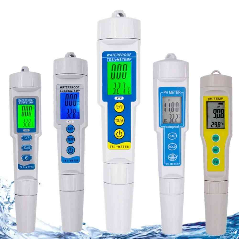 Professional Ph Meter Water Quality Tester