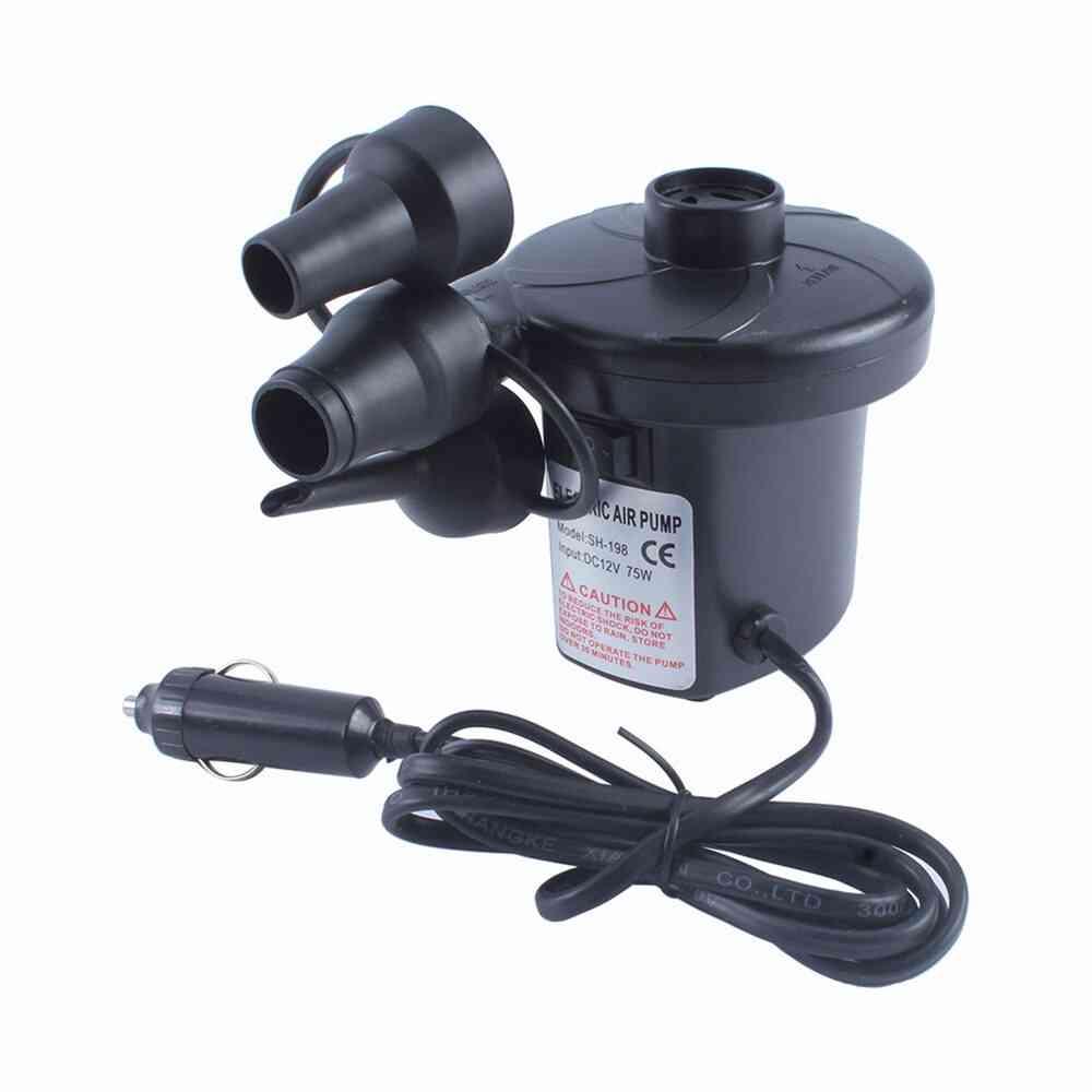 Portable- Electric Air Mattress Pump