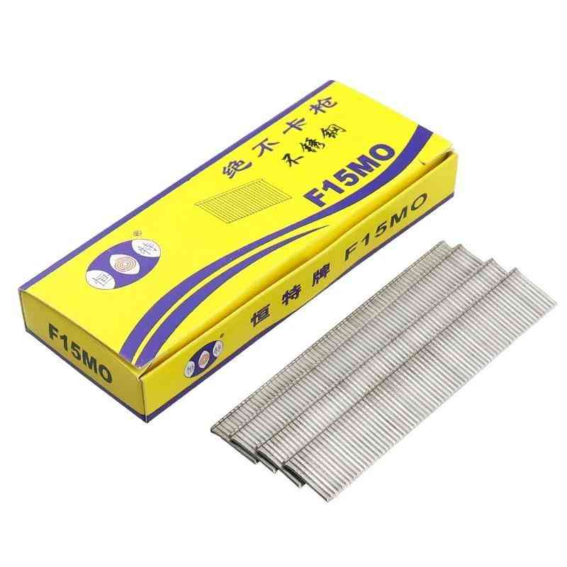 Electric Straight  Stainless Steel Nail Gun Staples