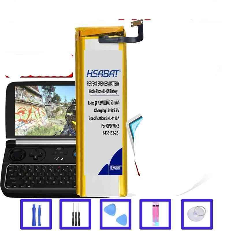 New 8000mah 6438132-2s Battery For Gpd Win2 Win 2 Handheld Gaming Laptop