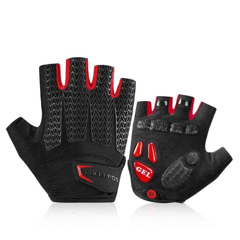 Summer- Bicycle Gym Fitness, Non-slip Sports Gloves