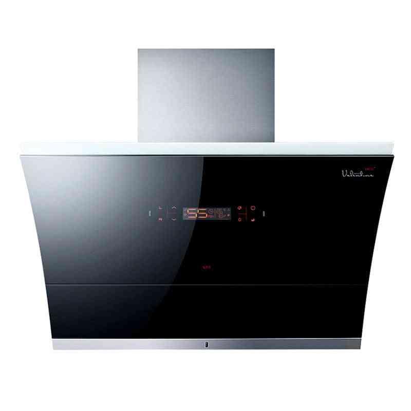 Household Kitchen Ventilation Smoke Exhaust Ventilator Strong Suction Hood