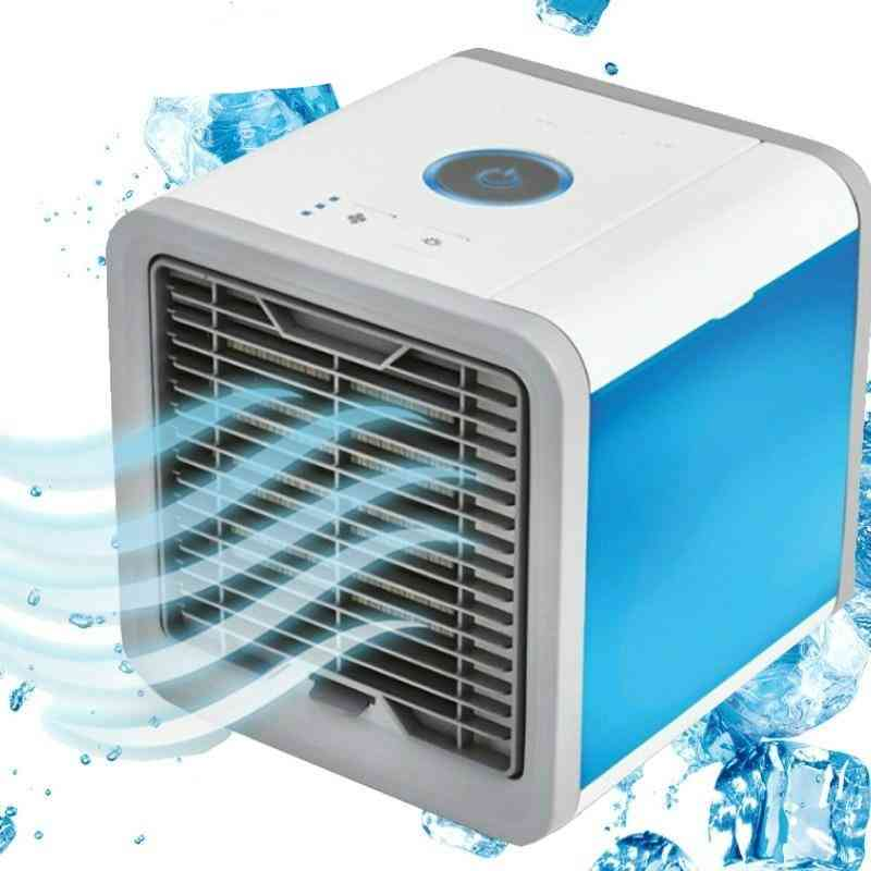 Mini Usb Air Cooler, Rechargeable Fan For Office Room