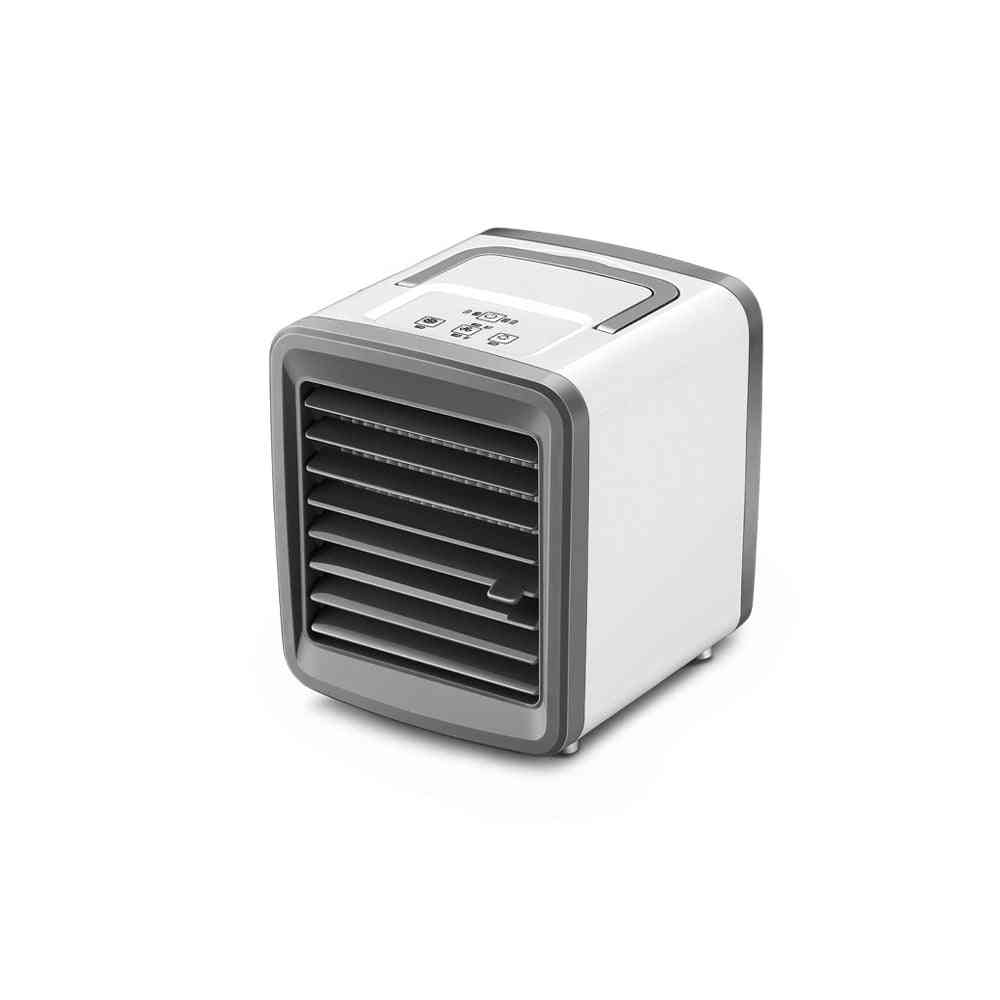 Mini Cooling Fan, Portable Usb Rechargeable Air Conditioning Cooler