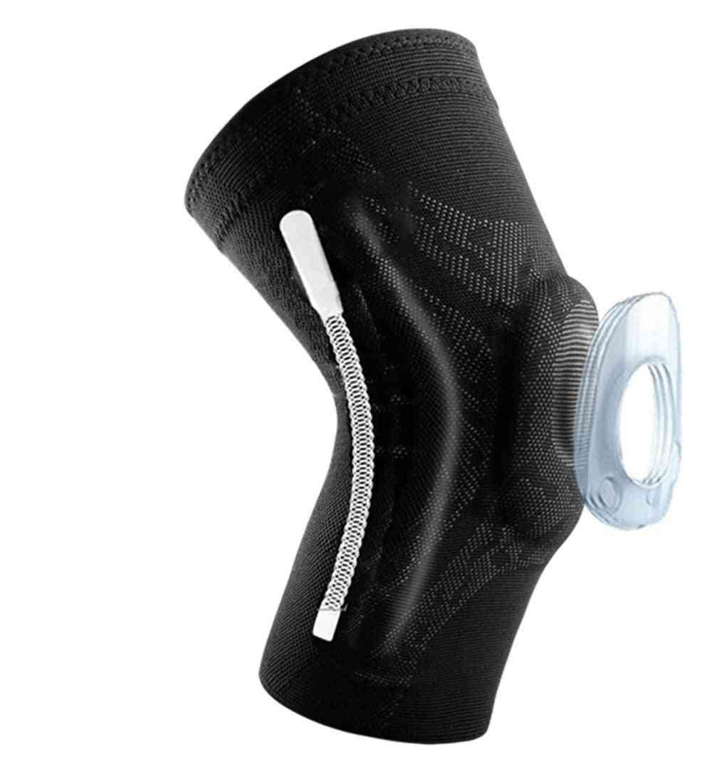 Silicone Spring Knee Patella Protector, Support Sleeve
