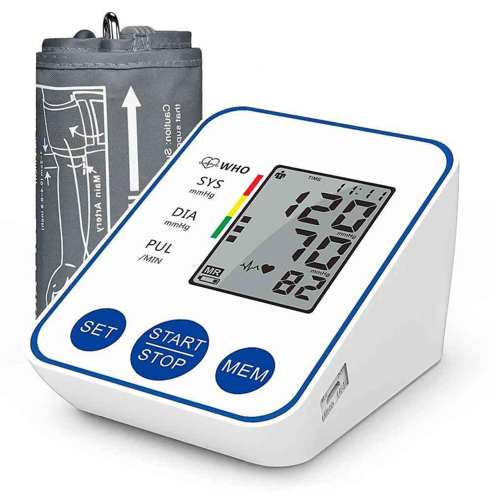 Upper Arm Automatic Digital Blood Pressure Monitor