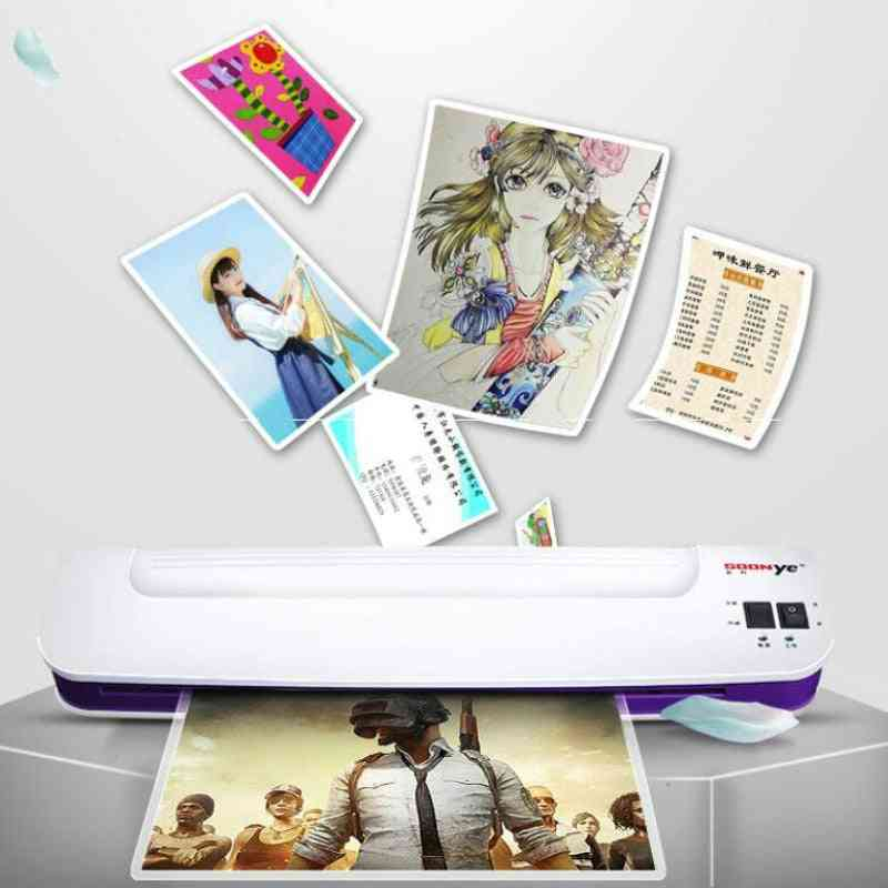 Professional Thermal Hot And Cold, A3 Size Film Laminator Machine