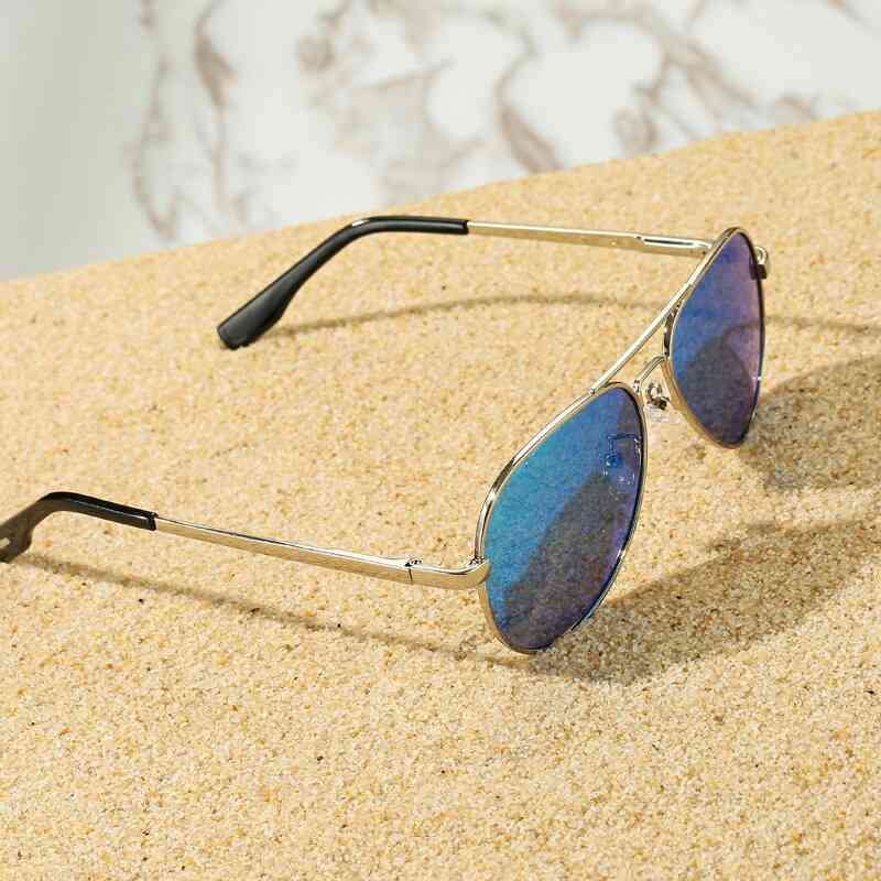 Small Polarized Pilot Sunglasses