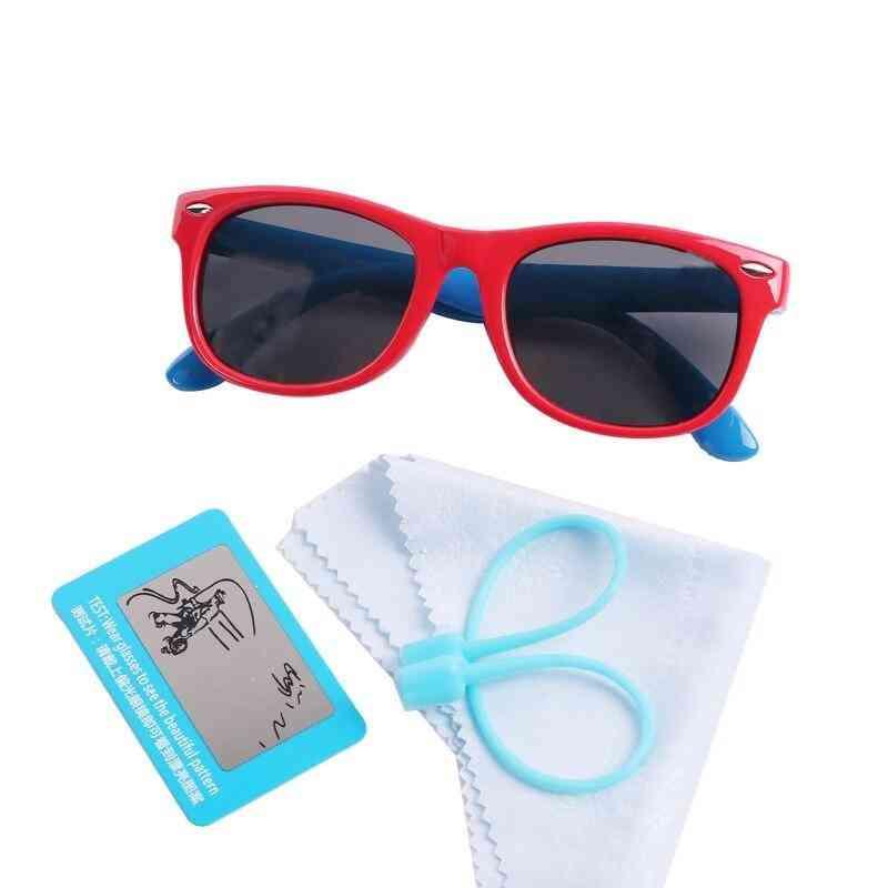 Polarized Elastic Frame Eyewear Car Case Sunglass