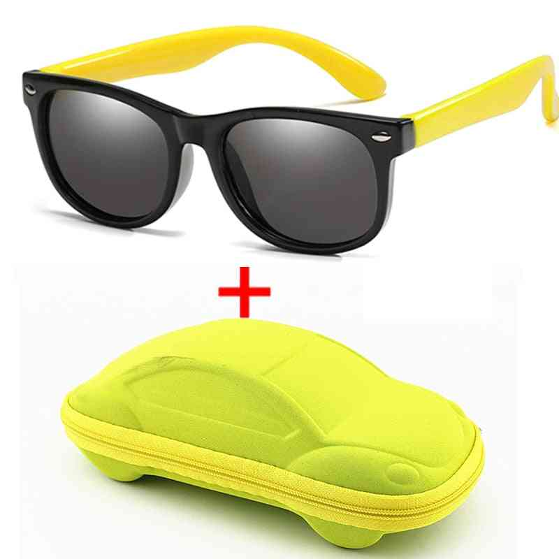 Polarized Silicone- Safety Sun Glasses