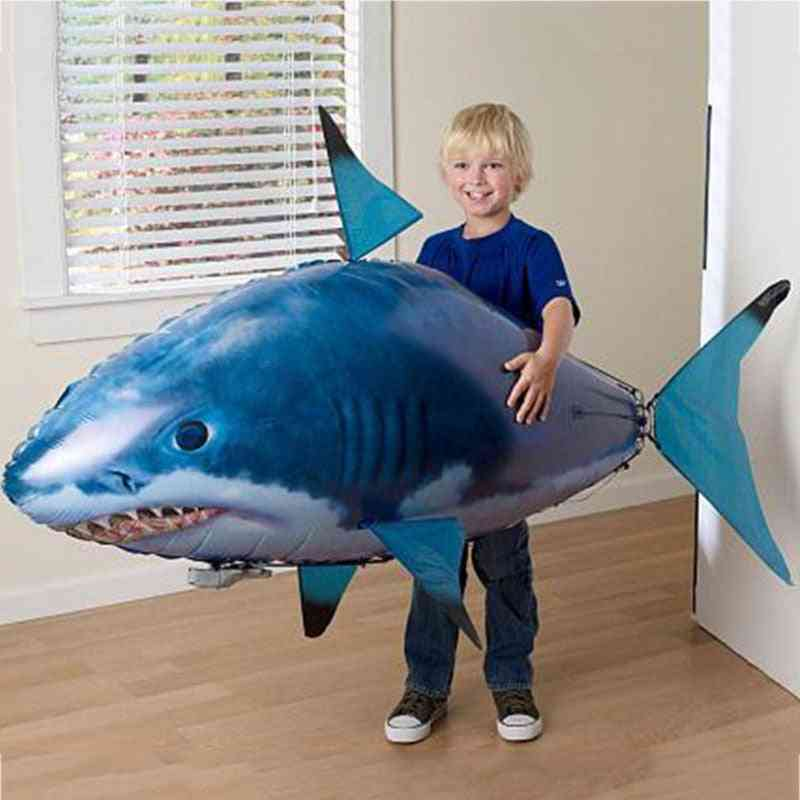 Remote Control Shark, Air Swimming Fish