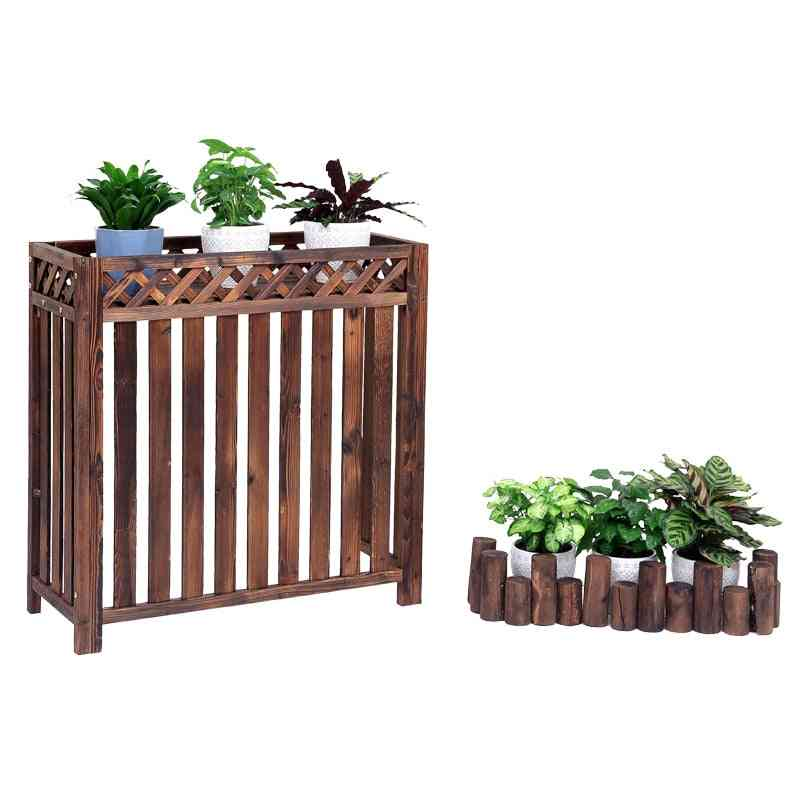 Air Conditioner Outside Machine Rack, Flower Stand