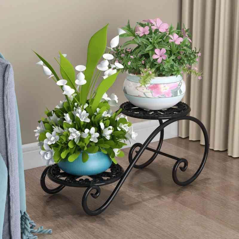 Multi-functional Indoor Ground Flowerpot Stand