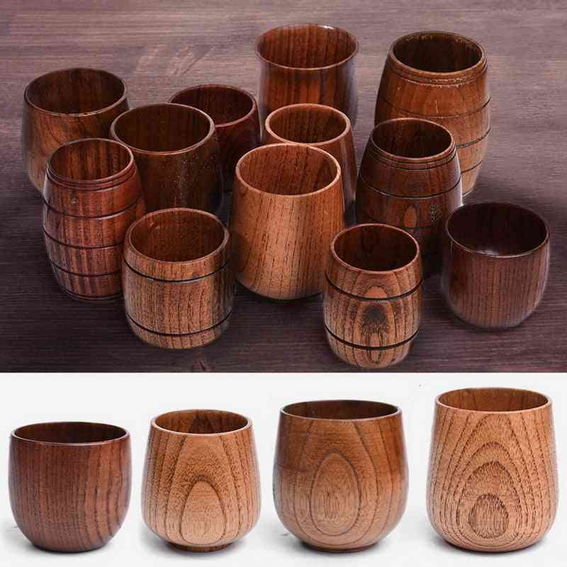 Handmade Natural Spruce Wood Cups