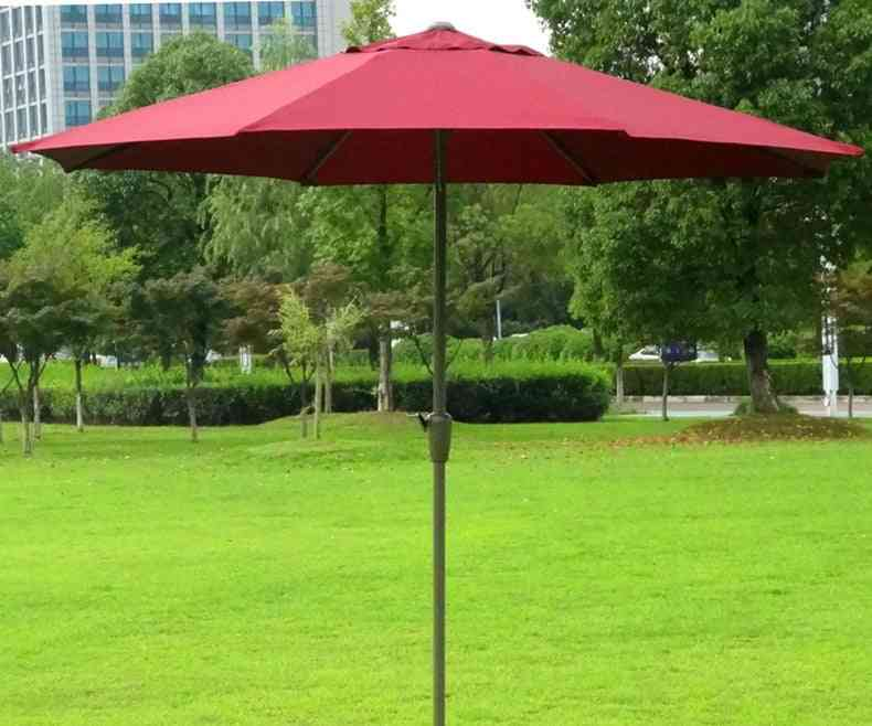 Outdoor Patio Sunshade Steel Frame Folding Without Base