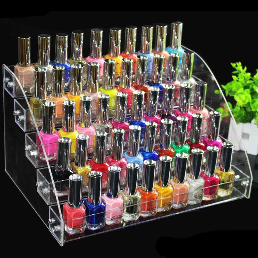 Multi-layer Display Nail Polish, Cosmetic Stands, Holder Storage Rack Tool