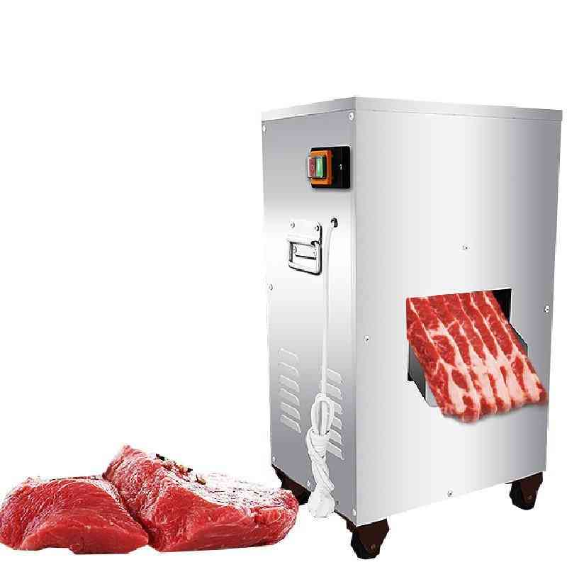 2200w 300kg/h- Commercial Vertical, Slicer Meat Cutting Machine