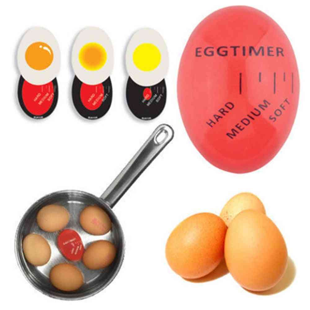 1pcs Yummy Soft Hard Boiled Egg Perfect Color Changing Timer