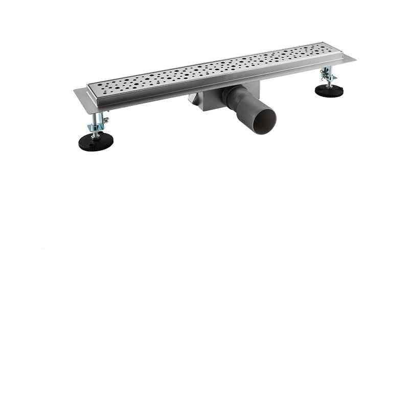 Floor Drain Stainless Steel Long Strainer Sink Overflow Cover