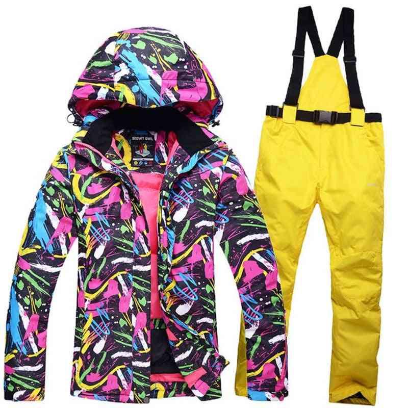 Snowboard Wear Waterproof & Windproof Winter Suits