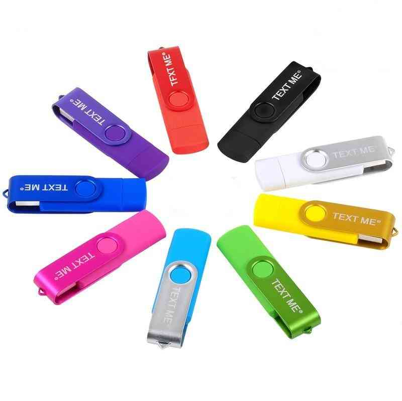3 In 1 Type-c Usb Flash Pen Drive For Computer & Phone