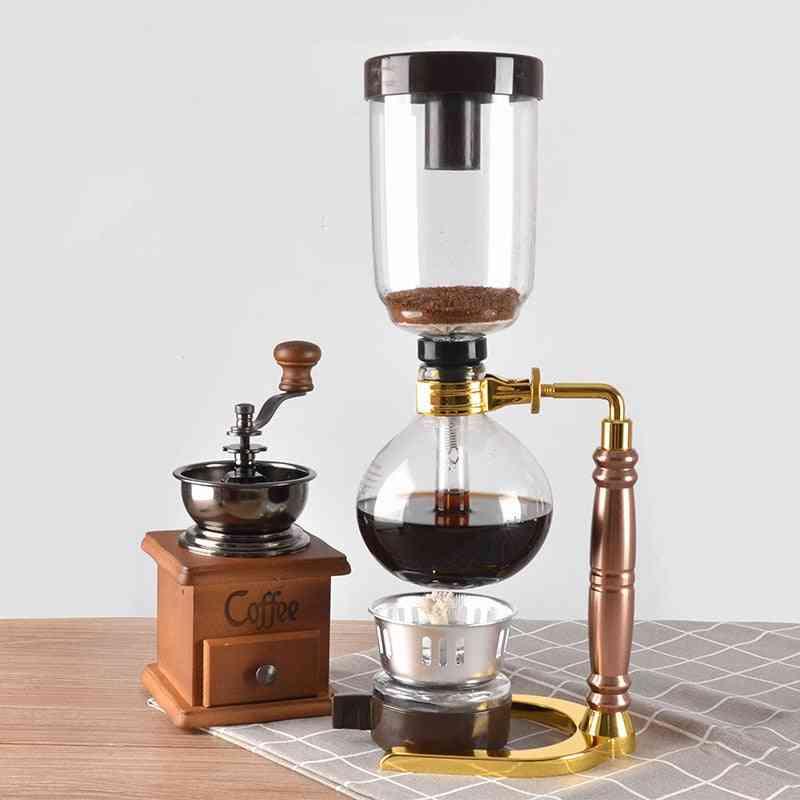 New Home Style Siphon Coffee Maker Tea Siphon Pot Vacuum Coffee Maker