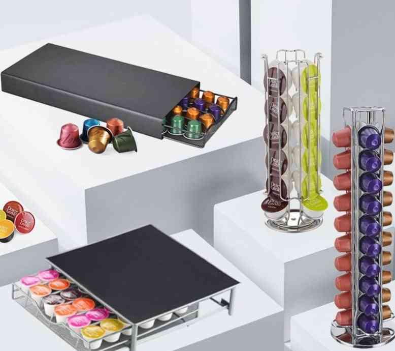 Nespresso Capsule Rack/storage Box  Dolce Gusto Capsule Storage Rack/box