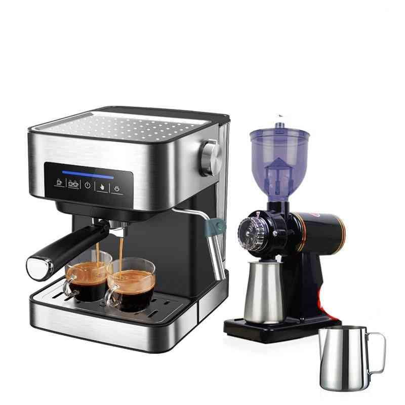 Inox Semi-automatic Espresso Maker, Coffee Powder Espresso Maker