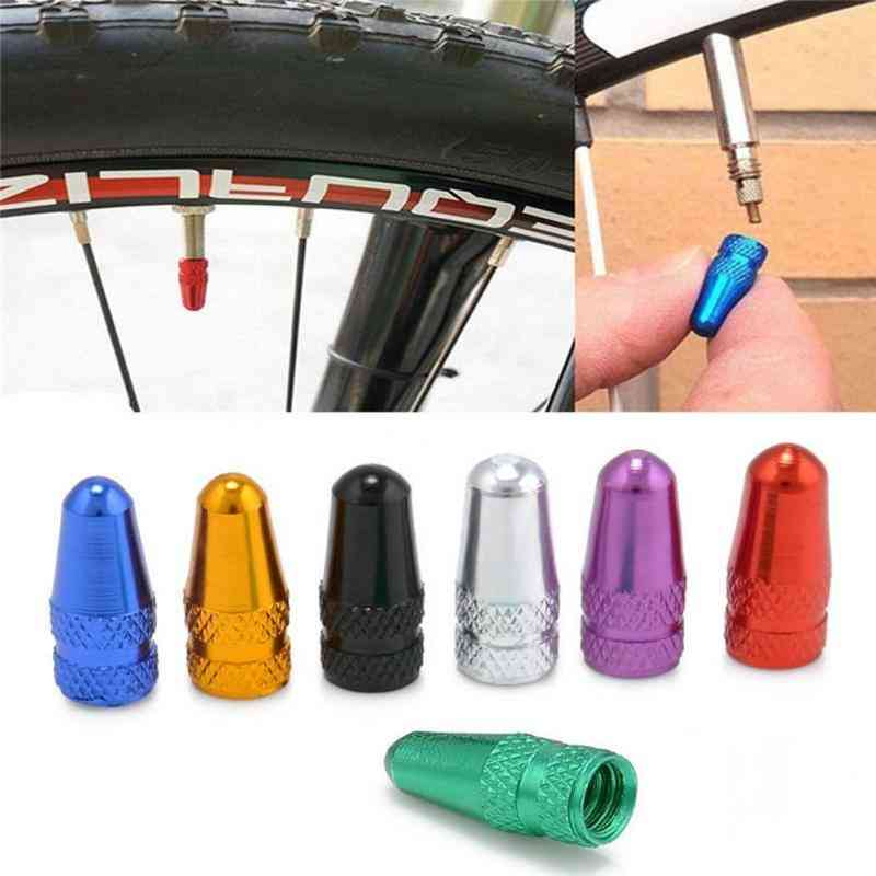 Durable Bicycle Fixie Mtb Presta Wheel Rim Tyre Stem Air  Cap