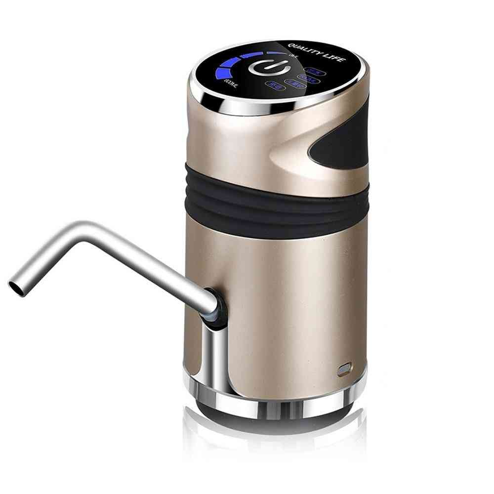 Automatic Water Dispenser, Bottled Press With Usb Led Display
