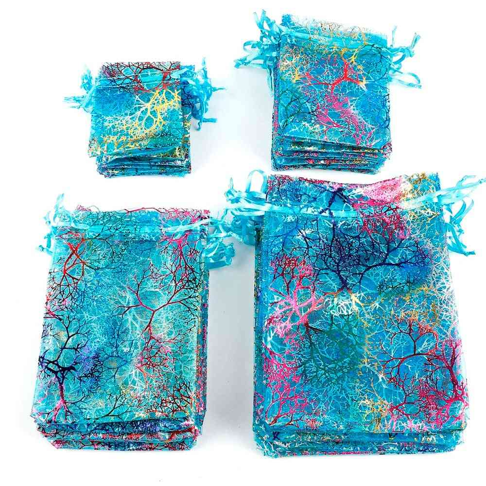 Drawstring Pouches Organza Bag For Wedding Favor, Jewelry Packaging