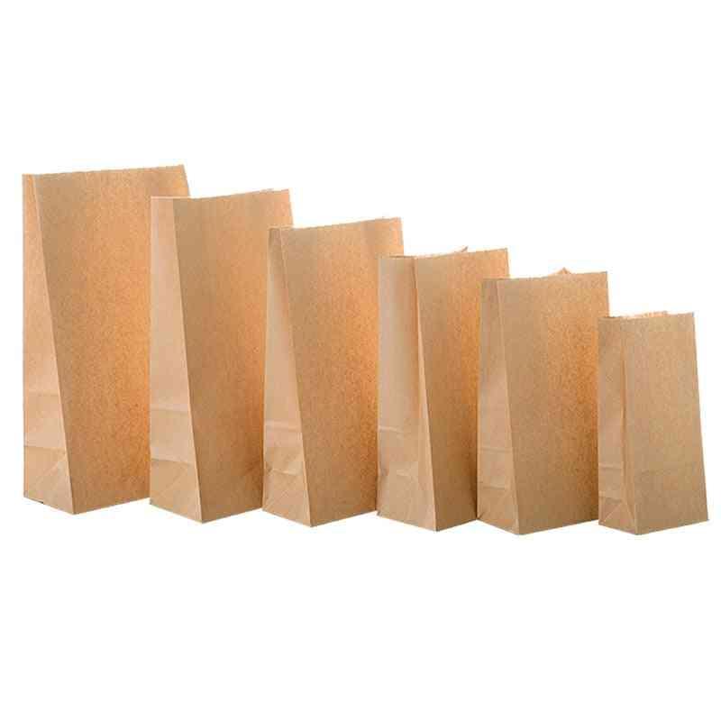 Paper Packaging Biscuit, Candy, Food, Cookie, Bread, Seen Snacks, Baking Bag