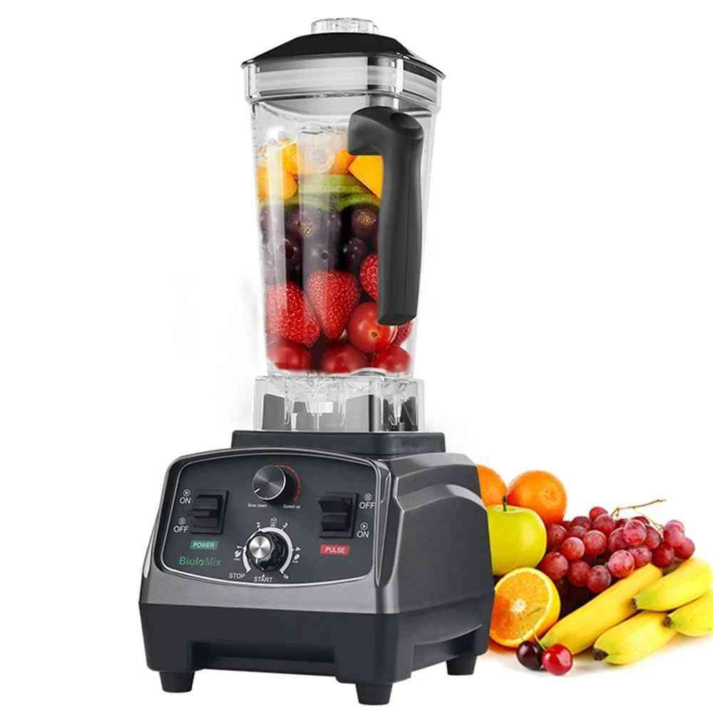 Commercial Grade Timer Blender & Mixer Juicer For Fruit Food, Processor Ice Smoothies