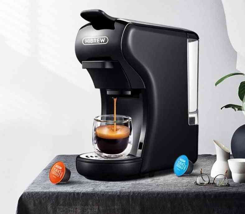 3-in-1 & 4-in-1, Capsule Espresso, Pod Coffee Maker Machine